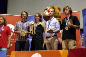 EUSA 2016: Goldmedaille für das deutsche Studententeam